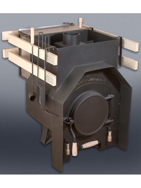 """Банная печь """"Бренеран"""" для бани 25 куб.м. метал. решетка"""